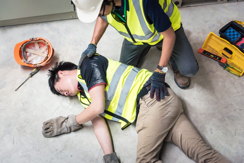 fallen and injured worker