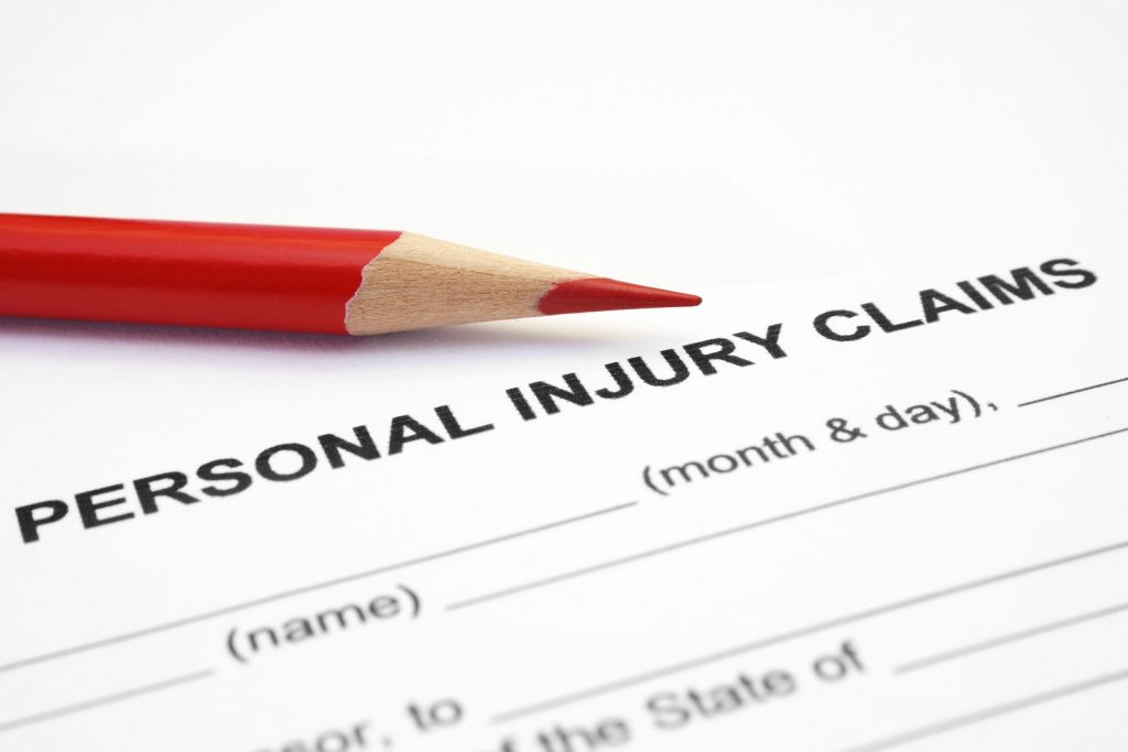 filing a personal injury claim in North Carlina