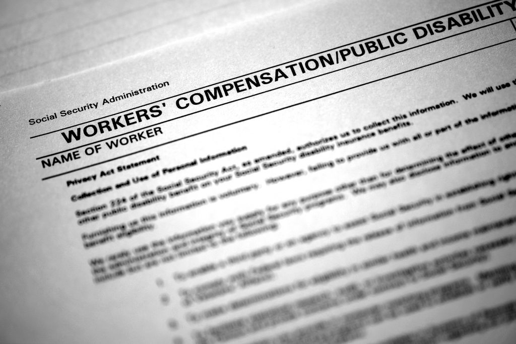 worker's compensation forms in North Carolina