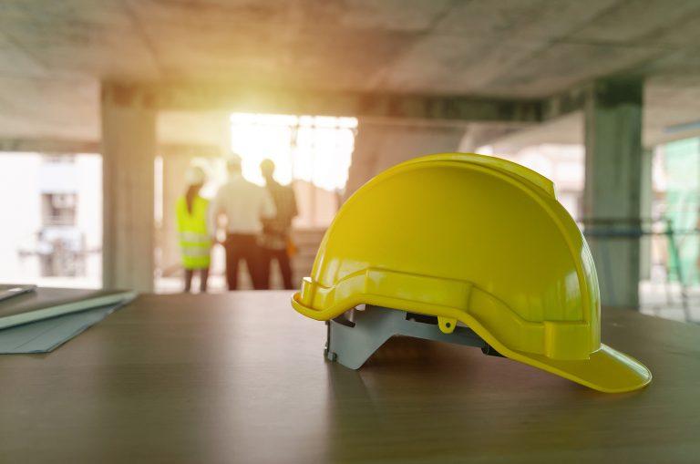 worker's helmet